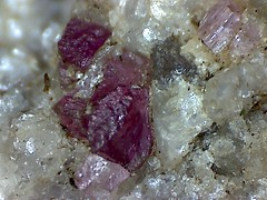 15091818514934636218 (Violet Planet) Tags: red rock stone crystal mineral geology tourmaline elbaite mineralogy rubellite
