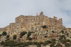 IMG_2413 (FAJM) Tags: espaa castle rock architecture landscape spain ruins castillo almagro ciudadreal campodecalatrava rampart castillalamancha fugger ordendecalatrava