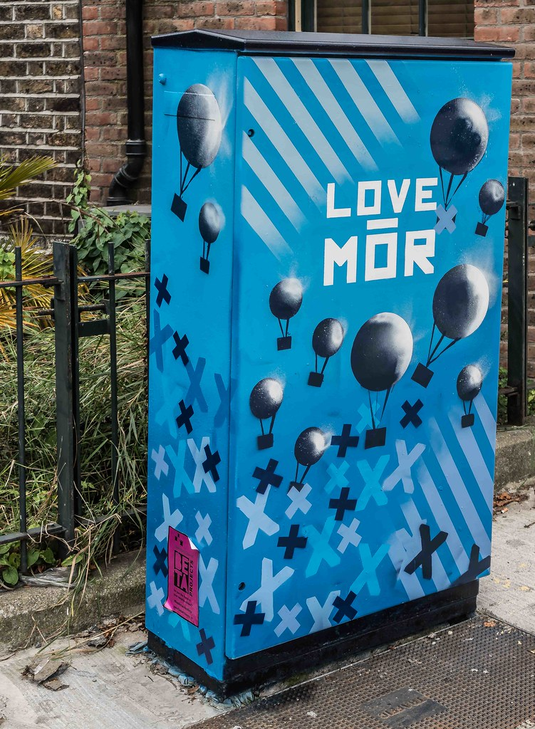 LOVE MOR ON CANAL ROAD [DUBLIN CANVAS PAINT A BOX PROJECT]-108547