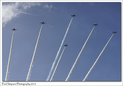 Red Arrows flying high (Paul Simpson Photography) Tags: clouds airplane aircraft bluesky aeroplane lincolnshire iconic airliner inthesky photosof imageof airplaneimages photoof britishicon imagesof aeroplaneimages sonya77 paulsimpsonphotography october2015