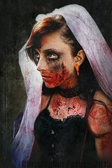 The Art of Horror (Christopher Mark Perez) Tags: paris france flesh death horror undead macabre zombies ghastly zombiewalk zombiewalkparis sigma30mmf28exdne sonya6000 zombiewalk2015 zombiewalkparis2015
