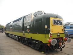 Class 55 Deltic (Uktransportvideos82) Tags: 1961 deltic d9009 55019