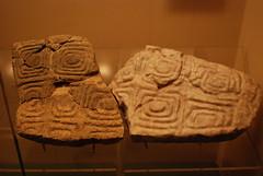 Jordan Museum - Amman - Oldest Large-scale Sculpted Slab in the Levant - Natufian, c 12,000 BC (jrozwado) Tags: rock museum asia amman jordan slab sculpted    natufian