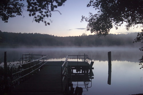 Petersdorfer See before dawn