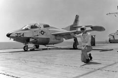 BTG-9 T2J-1 Buckeye 2F-354 (skyhawkpc) Tags: aircraft aviation navy naval usnavy usn buckeye 1960 ussantietam t2j1 btg9 cvs36 2f354