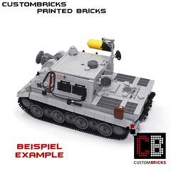 Lego Custom Panzer Tank Tiger Sturmtiger CB01-E (LA-Design2012) Tags: door tile pattern tank lego wwii luke fliese bunker round ww2 hatch custom mbt printed armored panzer halftrack bundeswehr reinforced 2x2 klappe sdkfz einstieg 4150 custombricks beruckte 4150px18 4150pb139 4150pb119 4150px24 panzerklappe 4150px panzerluke