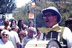 7-1-1968- Disneyland- Pearly Kings (foundslides) Tags: agfachrome anaheim ca usa disney walt themepark disneyland slides foundslides pdthorne retro vintage color photos pics pix kodak slide film redborder analog slidecollection irmarudd