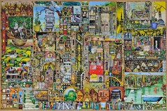 Ravensburger - Bizarre Town 5000 (andrey-ekt) Tags: puzzle ravensburger