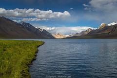 Karambar Lake 4272m (mujtaba ezaz) Tags: pakistan sunset sky lake mountains nature landscape meadow karakoram gilgit mountainscape broghil chitral hindukush wakhan karambar ishkoman gilgitbaltistan mujtabaezaz