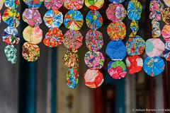 Fuxico em Igatu, Andaraí, Bahia – Brasil (jeilsonandrade) Tags: brasil br pano artesanato bahia fuxico chapadadiamantina igatu tecido andaraí