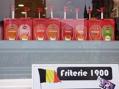 Friterie Sauces Christmas Market Bruges Dec 2015 (symonmreynolds) Tags: christmas december belgium christmasmarket bruges sauces 2015 christkindlmarkt friterie