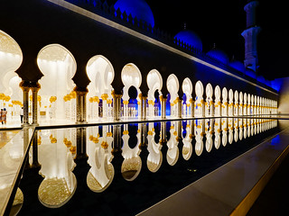 Abu Dhabi - Sheikh Zayed Grand Mosque (2)