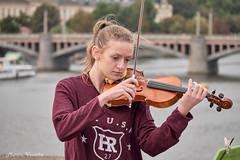 DSCF8319 1 (mates215) Tags: violin concert music charlesbridge prague public people girl bridge