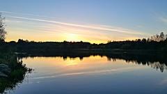 Sence valley park sunset (eucharisto deo) Tags: sence valley park sunset lake reflection