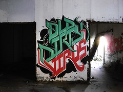 ODV (Brin d'Amour) Tags: odv usine friche urbex graffiti brindamour olddirtyvirus