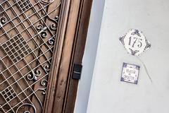 Rincn del Poeta. (PabloGaleano) Tags: puerta door number 175 poet uruguay