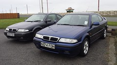 1995 (1998) Rover 220 Turbo Coupe x2 (micrak10) Tags: rover 220 turbo coupe fdh