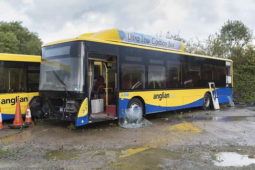 (057) Bus - Anglian - Man EcoCity - WX62 HGG - Beccles