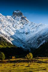 Ushba () Tags: ushba georgia mazeri mestia mtushba landscape mountains mountain mountaineering alpinism valley peak svaneti bigmountain        nature kavkaz  caucasus   saqartvelo