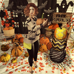 {Blog 95} Decorating for Halloween (veronica gearz) Tags: avi avatar alex blogger bloggers blog blogging blogs cheekypea secondlife second sl fall autumn halloween truth logo life mesh maitreya 2ndlife tresblah collabor88 pixicat ncore ersch revoul promagic shinyshabby treschic jcny reel reelposes unkindness rekt love vespertine halfdeer decorating pumpkin outdoor