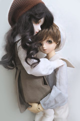 Hold on tight (lucynaturu2) Tags: bjd msd tiny daydream bluefairy juliet sarang