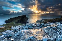 Neist Point, Isle of Skye (Andy Stables) Tags: neist point lighthouse minch moonen bay waterstein glendale skye scotland sunset winter canon 5d4 5d mark iv