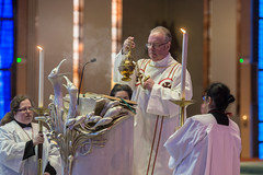 Mass For The Closing Of The Year Of Mercy in the Liverpool Cathedral (Catholic Church (England and Wales)) Tags: mass for the closing of year mercy liverpool cathedral gospel incense priest