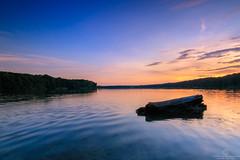 Sea and Sunset (Thomas Jahnke) Tags: tokina1116 eos760d canon brandenburg seascape landschaft landscape deutschland strausberg straussee
