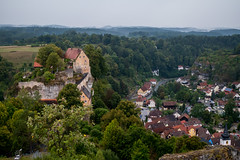 Pottenstein, Germany (1eyephotography) Tags: germany pottenstein europe overseas town ort stadt rollinghills history cliff