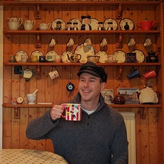 Mug Shot. #dollymixtures #mug #kitchen #artist #smile #love #warmth #fashion #hat #interiordesign #portrait (G.A.Bidmead17) Tags: smile love portrait mug fashion dollymixtures hat artist interiordesign warmth kitchen
