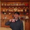 Mug Shot. #dollymixtures #mug #kitchen #artist #smile #love #warmth #fashion #hat #interiordesign #portrait (G.A.Bidmead17) Tags: smile love portrait mug fashion dollymixtures hat artist interiordesign warmth kitchen