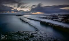 Dark Shadows (ianbrodie1) Tags: seahouses rocks shadows sunrise water sea seaside coast coastline haida 10stop filter longexposure cloud nikon d750
