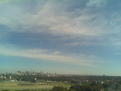 Sydney 2016 Oct 21 08:33 (ccrc_weather) Tags: ccrcweather weatherstation aws unsw kensington sydney australia automatic outdoor sky 2016 oct earlymorning