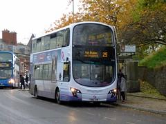 FirstNorwich 36196 - BN12JYW (Zak (Norwich Bus Page)) Tags: firstnorwich blueline routefec25 volvob9tlwrighteclipsegemini2 2016 36196 bn12jyw