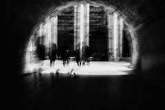 ... (instagram.com/the_big_smoke_/) Tags: architecture street silhouettes peoplewatching streetphotography streetscene composition britain bw blackandwhite london movement monochrome motion blur longexposure tunnel passage central city centre candid capture contrast compo comp lowkey light lines shadows urban uk urbanstreets underpass england robmchale impressionism