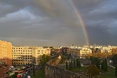 Arcobaleno @ Torpigna (Francesco Collina) Tags: sony a7sii nikkor 35mm f2 ais roma torpignattara
