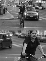 [La Mia Citt][Pedala] (Urca) Tags: milano italia 2016 bicicletta pedalare ciclista ritrattostradale portrait dittico nikondigitale mir bike bicycle biancoenero blackandwhite bn bw 907127