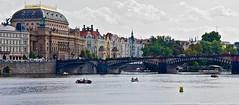 Colorful Prague Legio bridge (somabiswas) Tags: prague brigde buildings czechrepublic architecture river saariysqualitypictures legio