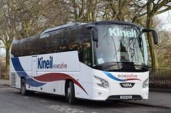 SF16KUX  Kineil Coaches, Fraserburgh (highlandreiver) Tags: edinburgh sf16kux sf16 kux kineil coaches fraserburgh aberdeenshire vdl futura bus coach