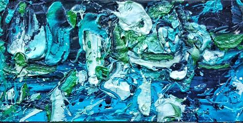 #josephallenart #oct2016 7.5x15 #acryliconpaper #abstractpainting
