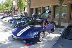 360 CS (Hertj94 Photography) Tags: ferrari 360 challenge stradale downtown winnetka illinois july 2016 canon t3 fuelfed coffee classics
