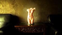 Coffeeshop Venus (kieronjameslong) Tags: venus goddess statue sculpture art carving modern kitsch greek roman grecoroman modernart coffee coffeeshop coffeehouse cafe decor decoration interior interiordesign furniture furnishing furnishings greekgoddess romangoddess aphrodite