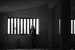 untitled with mask n.3 (Vincenzo Elviretti) Tags: monte scalambra serrone roiate lazio roma provincia maschera mask black white stupro edilizio paesaggio abbandono abandoned inquietudine mistero fantasma ghost nikon mistery
