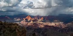 Winter Sunset - Grand Canyon (Vince O'Sullivan) Tags: 2012 arizona northamerica usa grand canyon