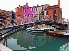 A Bridge in Burano (Vid Pogacnik) Tags: italy italia burano veneto house channel town bridge