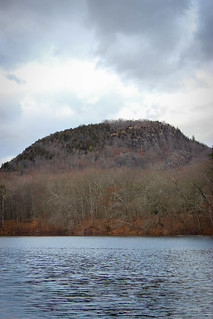 Sleeping Giant Chin from Clarks Pond