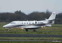 DC-Aviation Cessna 560XL Citation D-CNNN (birrlad) Tags: shannon snn international airport ireland aircraft aviation airplane bizjet private passenger jet airplanes approach arrival arriving finals landing landed runway dcnnn cessna 560xl citation xls c56x dcaviation