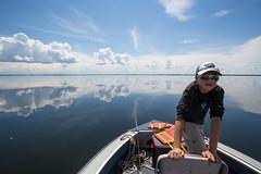 Sean in the bow (Rob Kunz) Tags: lake water recreation kunz sportsrecreation