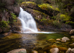 Ladies Bath Falls (laurie.g.w) Tags: park ladies green water pool beauty rock creek swim river landscape waterfall moss cool buffalo bath stream mt bright australia victoria falls national waterscape