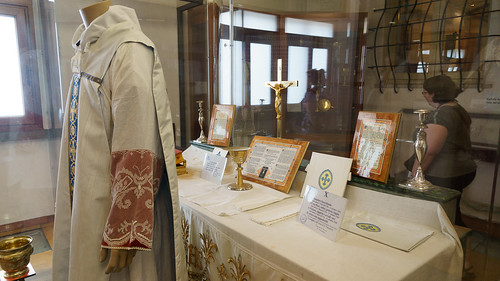 Items from St. Pio's Final Mass